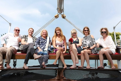 Jane Seymour Event at Flying Seat Royal Albatross