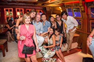 SYS Champagne Event at Grand Salon Royal Albatross 2