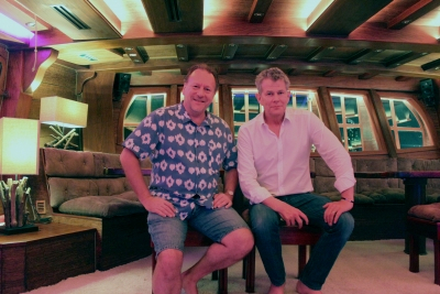 David Foster Event at Grand Salon with Pete Pela Royal Albatross
