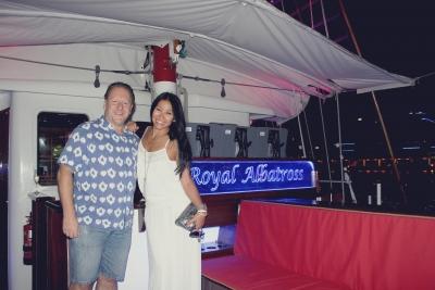 Anggun Cipta Sasmi at Helm Station Royal Albatross