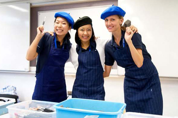cooking training royal albatross