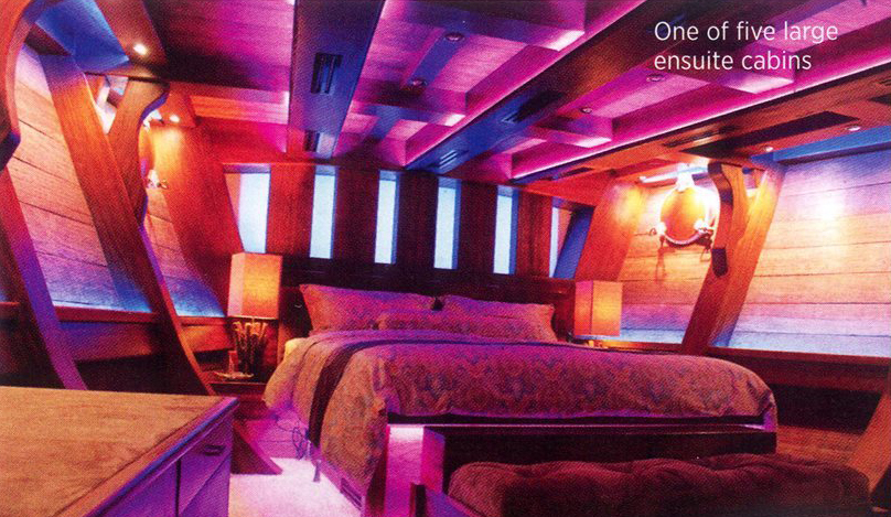 one of five large ensuite cabin royal albatross 2
