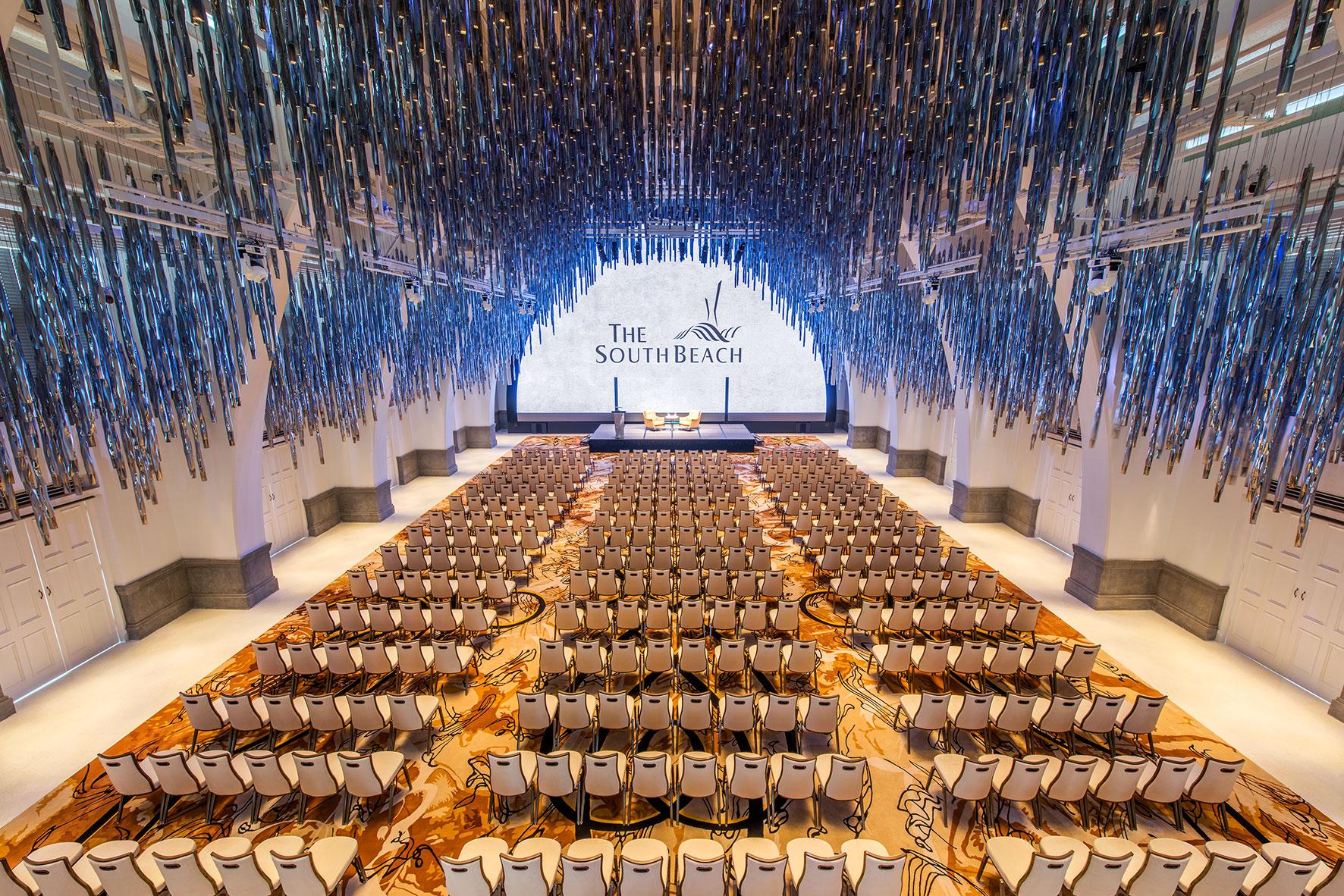 The South Beach Grand Ballroom Theatre Setup Royal Albatross