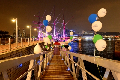 Corporate Event - Pontoon Royal Albatross