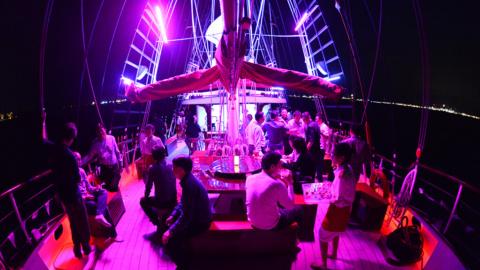 Corporate Event Upper Deck Royal Albatross 9