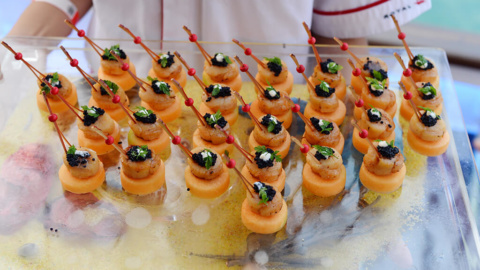 Food Layout Dessert Royal Albatross
