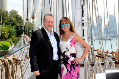Jane Seymour Event at Fore Deck Royal Albatross