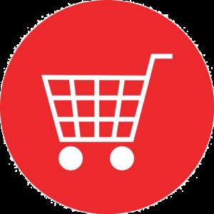 shopping cart icon royal albatross