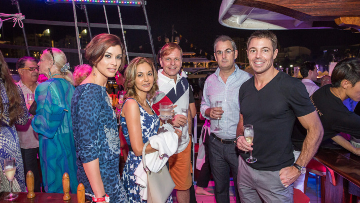 SYS Champagne Event at Upper Deck 2