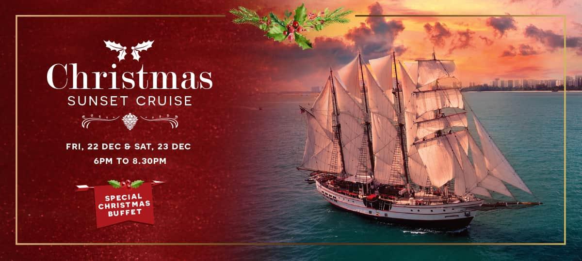 christmas sunset cruise royal albatross