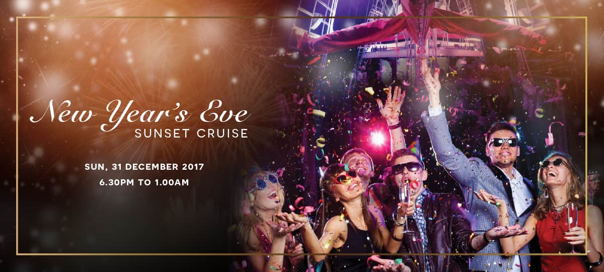New Year Eve 2017 sunset cruise royal albatross