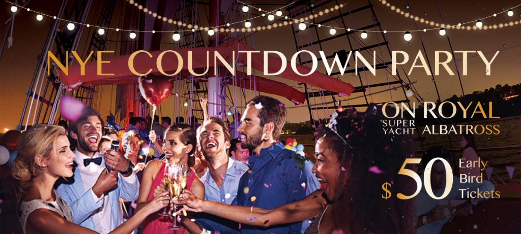 new years eve countdown: dockside party