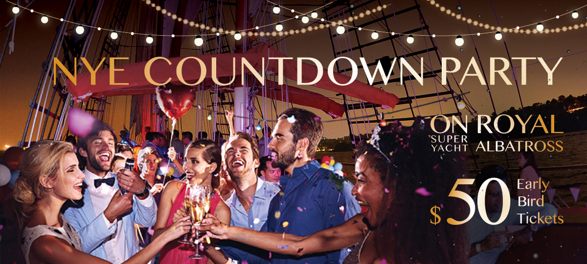 new years eve countdown party dockside royal albatross