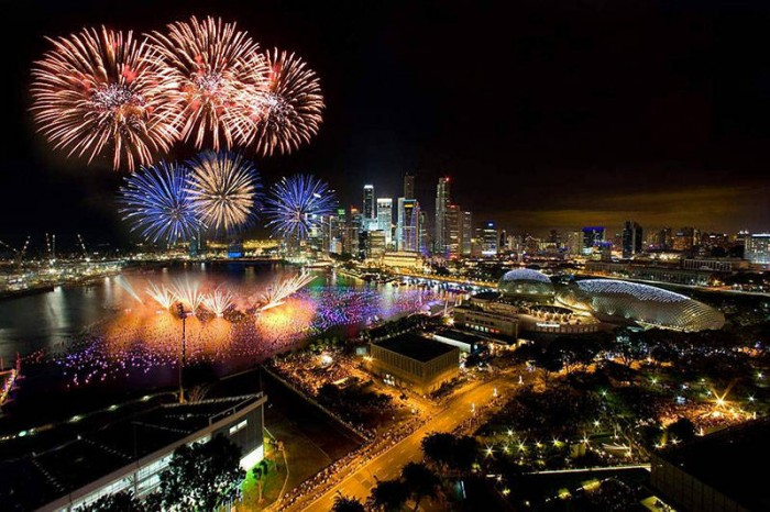 singapore fireworks royal albatross