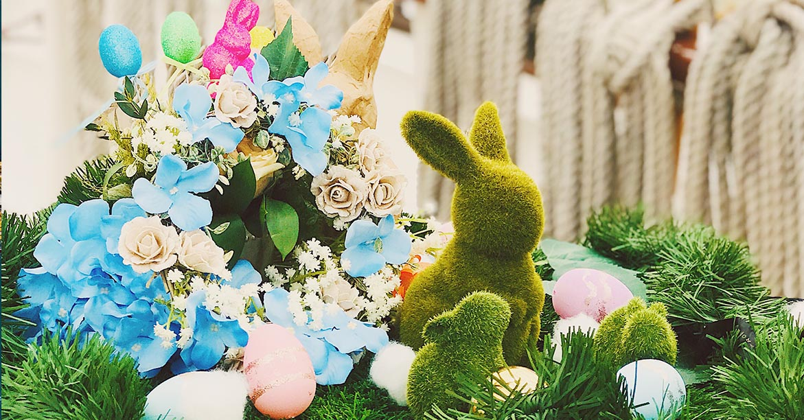 easter special decorations on board royal albatross