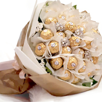 Chocolate bouquet gift royal albatross thumbnail