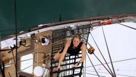 Mast Climb at Royal Albatross