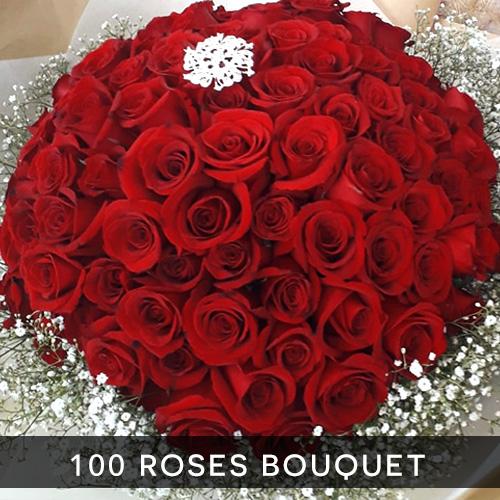 100 roses