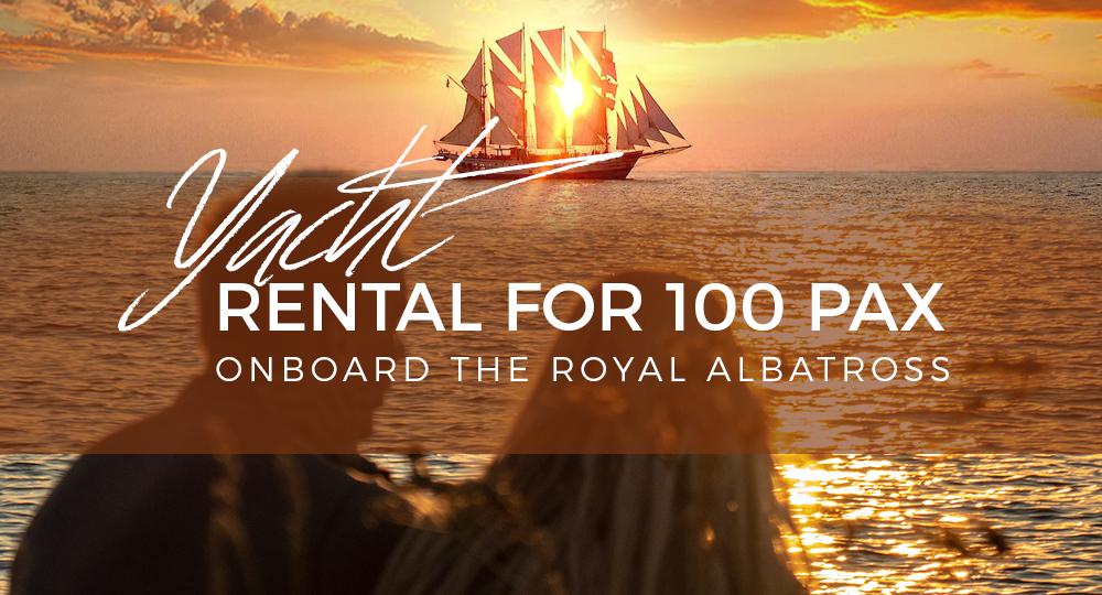 Yacht Rental 100 Pax