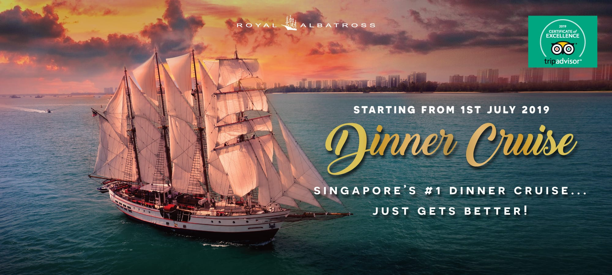 Sunset Sail And Dinner Cruise Harbour Cruise Tall Ship