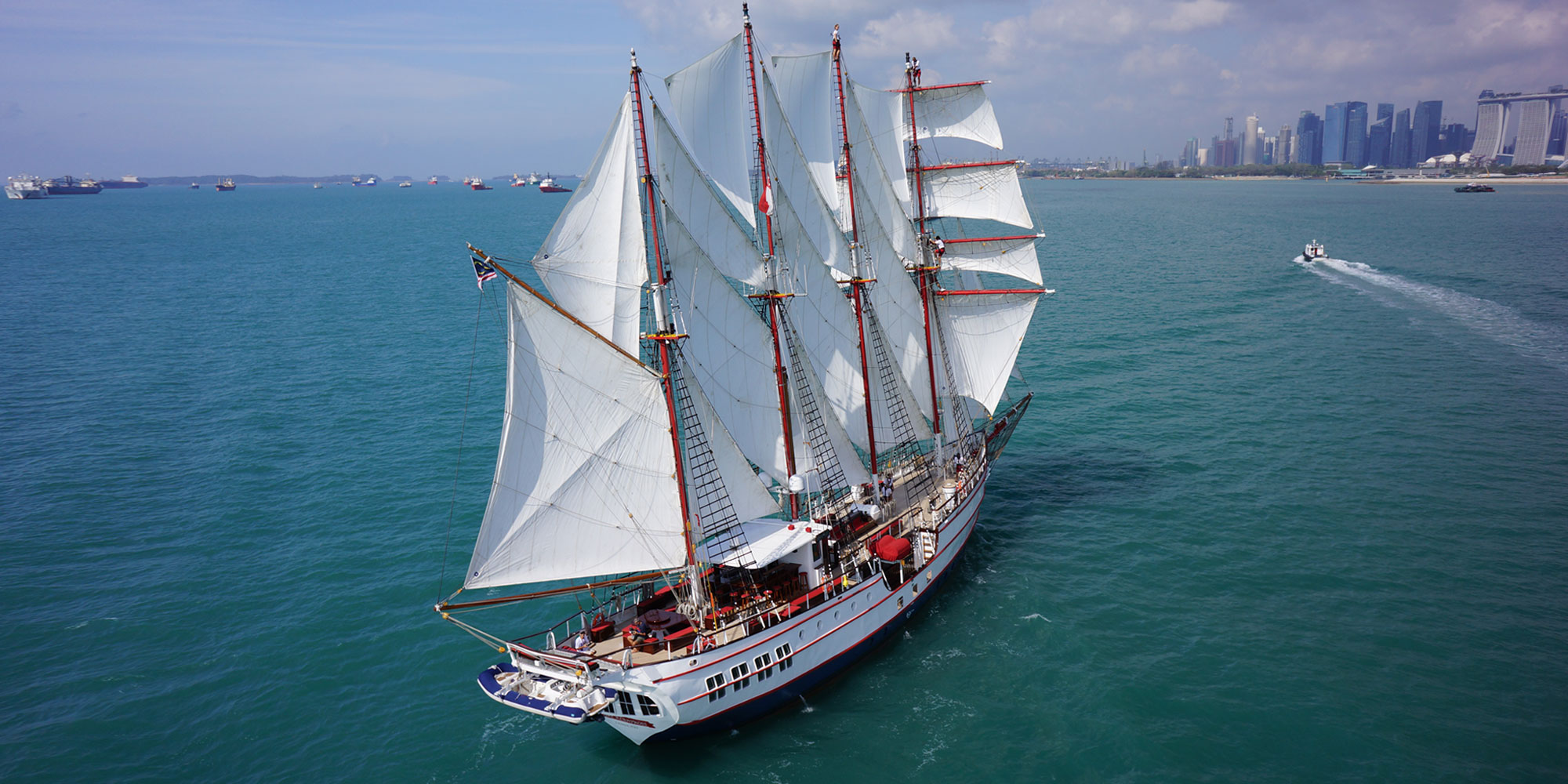 Instagram Tallship Sailboat Sentosa