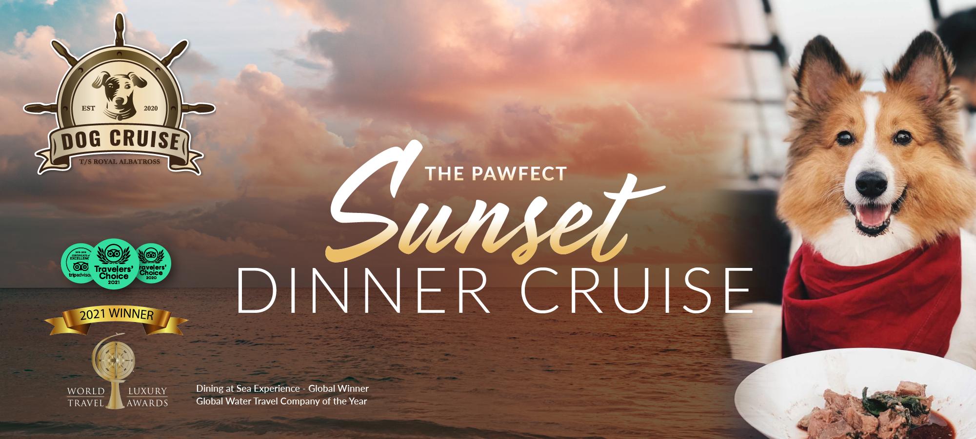 Dog Cruise Sunset Dinner Cruise